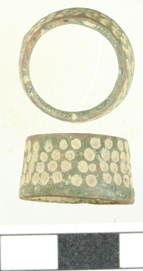 WILT-030285: Medieval to Post-Medieval thimble