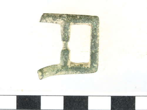 WILT-034DDB: Medieval buckle fragment