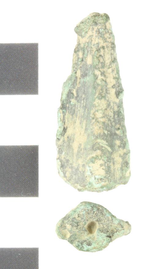 WILT-0A1E21: Bronze age spear head