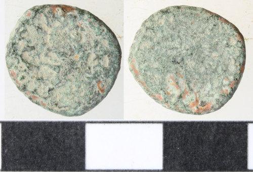 WILT-706D1A: Roman coin: barbarous radiate