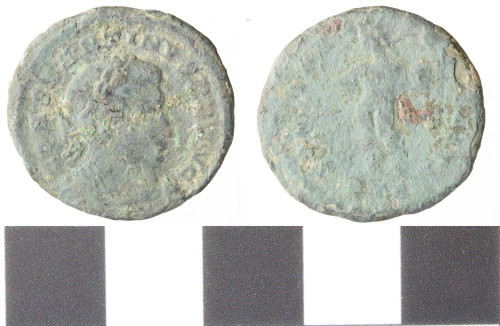 WILT-77093E: Roman copper alloy nummus, Constantine I