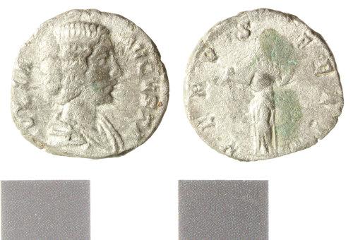 WILT-98FF3E: Roman silver denarius, Julia Domna