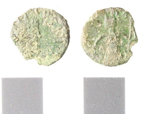 WILT-9D06A8: Roman coin; barbarous radiate