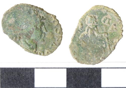 WILT-A40034: Roman copper alloy barbarous radiate