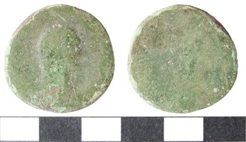 WILT-A47B7E: Sestertius or dupondius of Julio-Claudian emperor