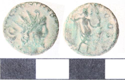 WILT-B6C9E5: Roman coin barbarous radiate