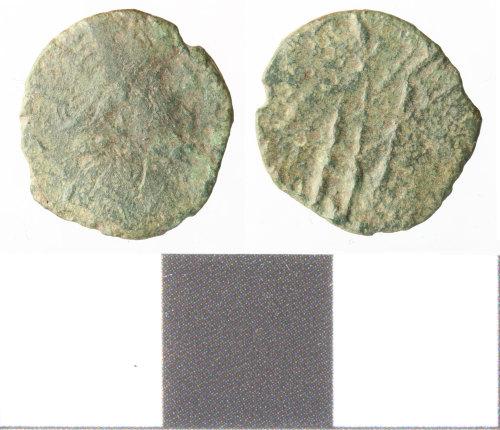 WILT-C488B7: roman coin; barbarous radiate