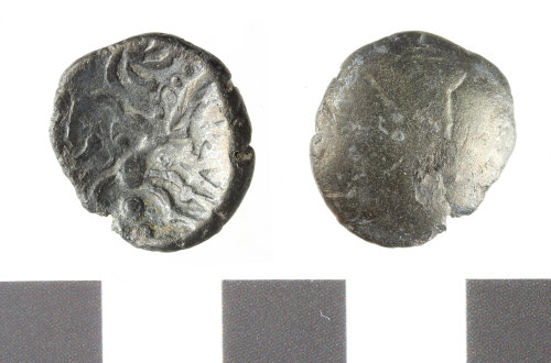 WILT-C9D9D5: Iron age silver stater