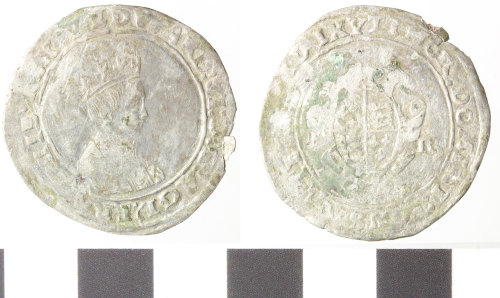 WILT-CB8044: Post-Medieval silver shilling, Edward VI