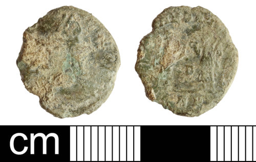 DEV-1C518E: Roman Coin: nummus of the House of Constantine