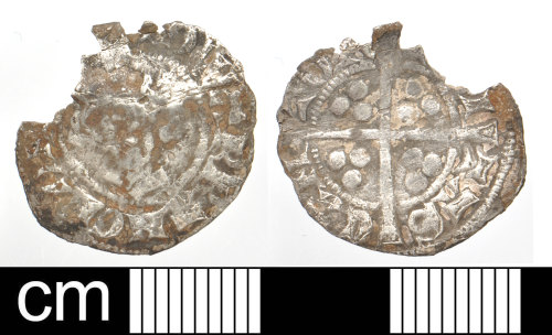 DEV-269BFB: Medieval coin: Silver penny of Edward I