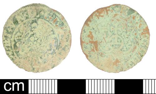 DEV-31AEE8: Post-Medieval copper alloy jetton