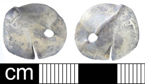 DEV-444708: Post-Medieval coin: penny or halfgroat of Elizabeth to Charles I