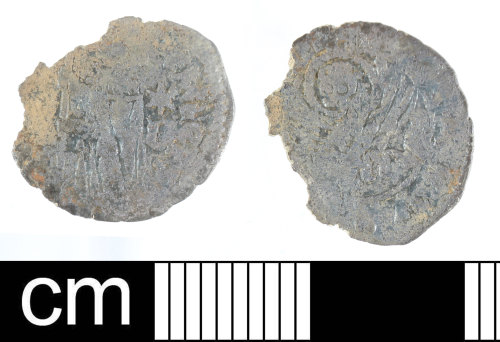 DEV-45A082: Medieval coin: silver soldino of Michele Steno