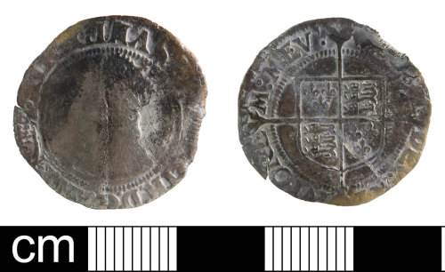 DEV-4DC90E: Post-medieval Coin: Groat of Elizabeth I