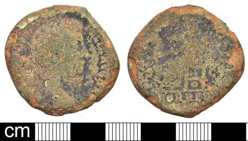 DEV-5F517C: Roman coin: copper alloy sestertius of Commodus