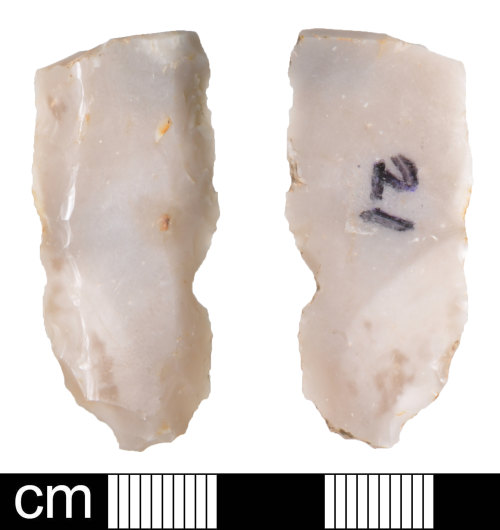 DEV-603F42: Neolithic flint knife
