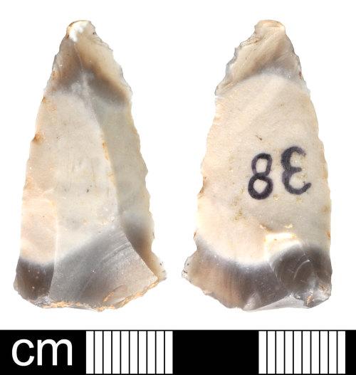 DEV-6074F1: Prehistoric flint flake