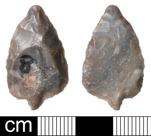 Stone implements dating from 900 to 2400bc