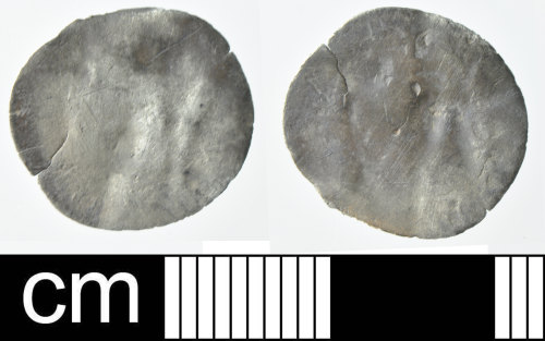 DEV-7BB46A: Post-Medieval coin: probable penny of Elizabeth I