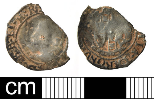 DEV-7FD499: Post-Medieval coin: silver half grot of Charles I