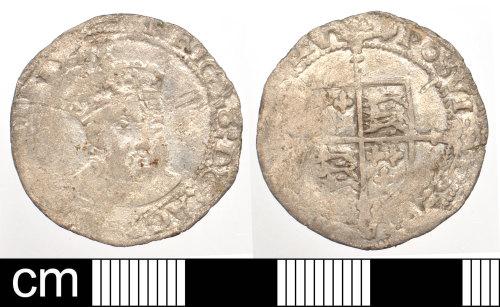 DEV-A55442: Post-Medieval coin: Silver shilling of Edward VI