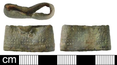 DEV-C128B2: Medeival to Post-Medieval thimble