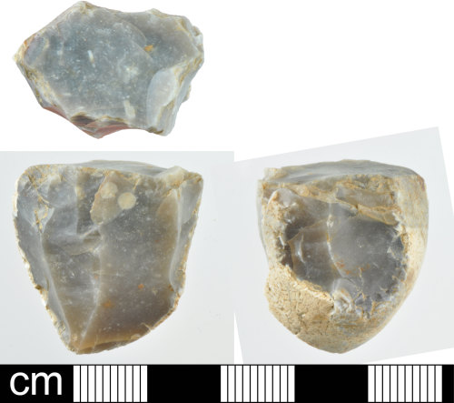 A resized image of Prehistoric flint core - 5