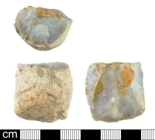 DEV-EC021C: Late Neolithic to Bronze Age flint core