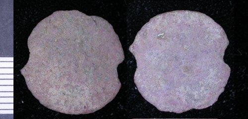 LEIC-073563: Roman copper alloy coin
