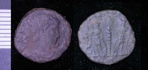 LEIC-0BA114: Roman copper alloy nummus