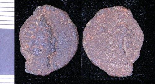 LEIC-177CC6: Roman copper alloy As? of Julia Mamaea