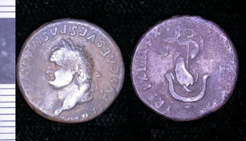LEIC-188874: 188874 roman denarius of Titus