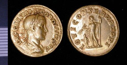 LEIC-196037: Roman Gold Aureus of Gordian III