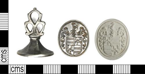 LEIC-8AEB09: post medieval silver seal matrix