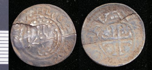LEIC-2174D4: Medieval silver scottish penny of William I