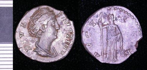 LEIC-261C20: 261C20 denarii of faustina senior