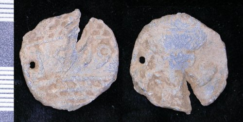 LEIC-27C1C3: Post Medieval lead alloy token
