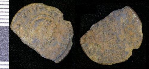 LEIC-2A74D1: Roman copper alloy nummus of Constantine I