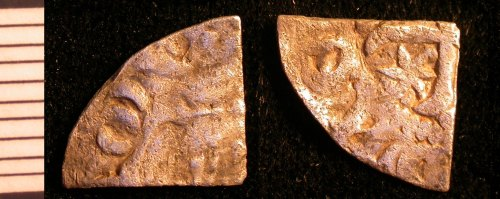 LEIC-3580E5: Medieval scottish farthing of William I