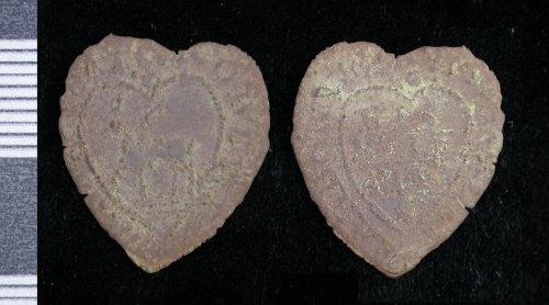 LEIC-541931: Post Medieval copper alloy token