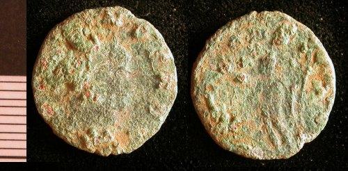 LEIC-58F0E2: Roman copper alloy coin