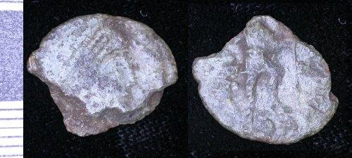 LEIC-5D78B3: Roman copper alloy nummus of Valens