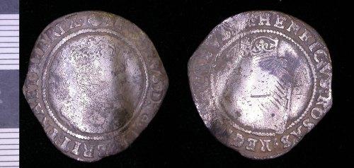 LEIC-64F5B7: 64F5B7 post medieval silver crown?