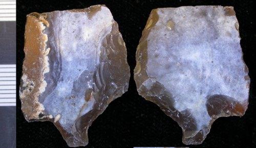 LEIC-6921C7: 6921C7 Mesolithic end scraper