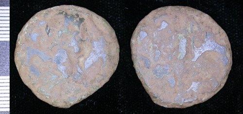 LEIC-6B9795: Roman copper alloy sestertius