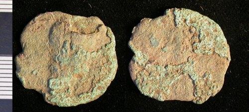 LEIC-725443: Roman copper alloy coin