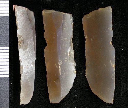 LEIC-780DE7: Prehistoric flint flake