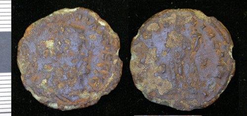 LEIC-8195D7: Roman copper alloy nummus