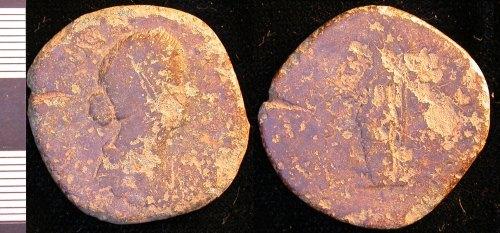 LEIC-98C106: 98C106 sestertius of Faustina